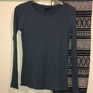 Cynthia Rowley long sleeve top size Med 🌻